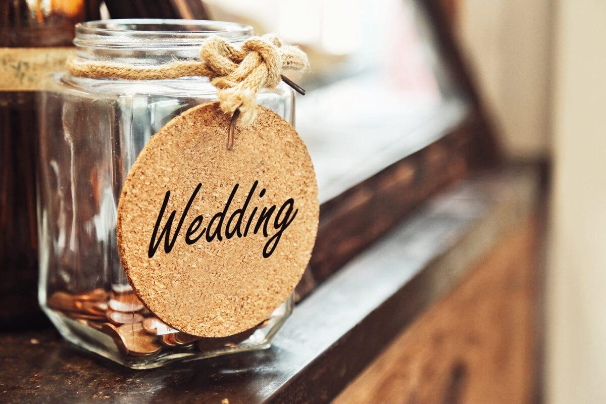wedding budget jar