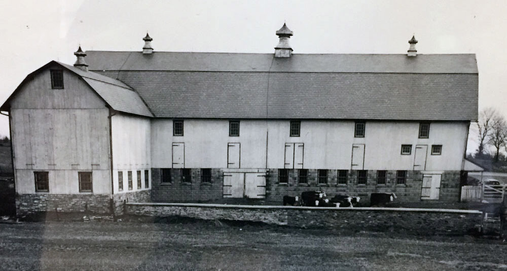 historical photo of Melhorn Manor